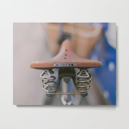 Brooks Bike Metal Print
