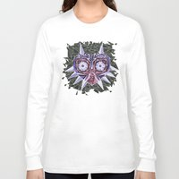 majoras mask Long Sleeve T-shirts featuring Triangle Majora's Mask by NeleVdM