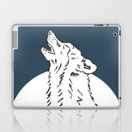 Pra Loup Howling Wolf Laptop & iPad Skin