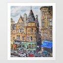 Cockburn Street, Edinburgh by gwenmeyerson