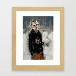 Institutionalised Framed Art Print