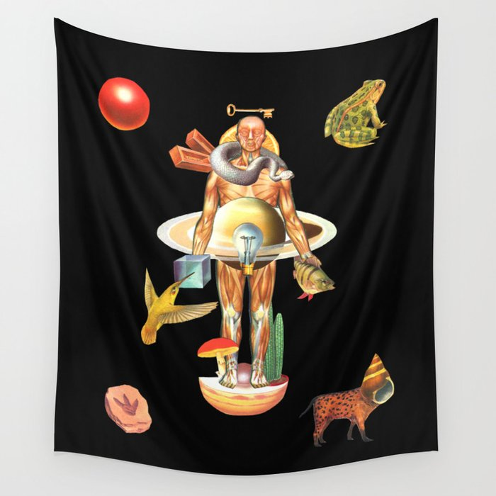Recalcitransubstantiability Wall Tapestry