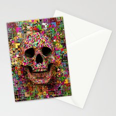 Pink Noise Stationery Cards