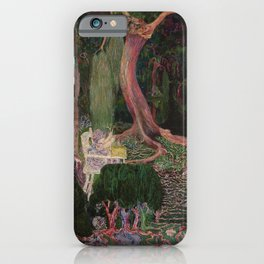 The New Generation by Jan Toorop iPhone Case