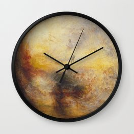 The Morning After the Deluge J. M. W. Turner Wall Clock