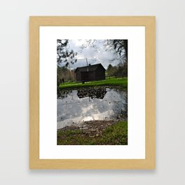 So why don't we go, somewhere only we know  Framed Art Print