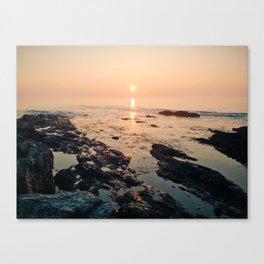 Sunrise at Trundy Pt., ME Canvas Print