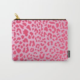 Candy Pink Leopard Carry-All Pouch