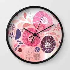 I Am Going To Daydream Today Wall Clock