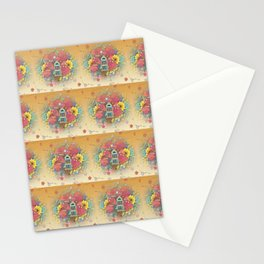 Tree House Garden Stationery Cards