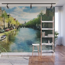 Amsterdam Waterways Wall Mural