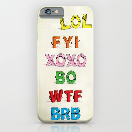 Some Internet Abreviations iPhone & iPod Case
