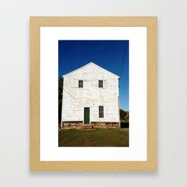Old St. Paul's (Side View) Framed Art Print