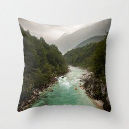 Wild Slovenia Throw Pillow