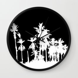Date Palm Trees 2 Wall Clock