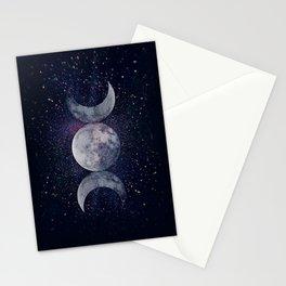 Shining Lunar Symbol Stationery Cards