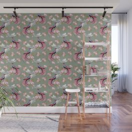 Birds of Paradise - Classic Pattern Wall Mural