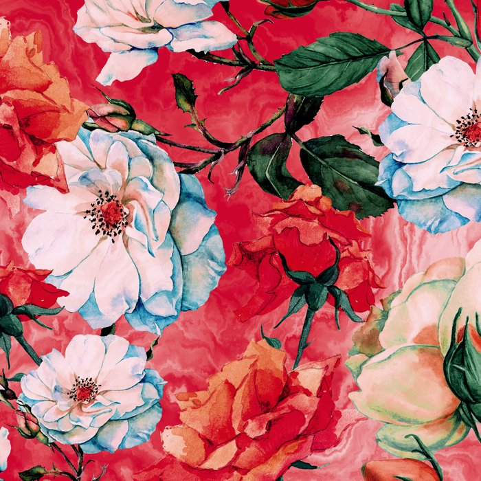 Rose Red Leggings
