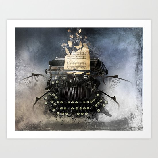 Piandemonium - Writers' Waltz Art Print