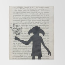 Dobby! Throw Blanket