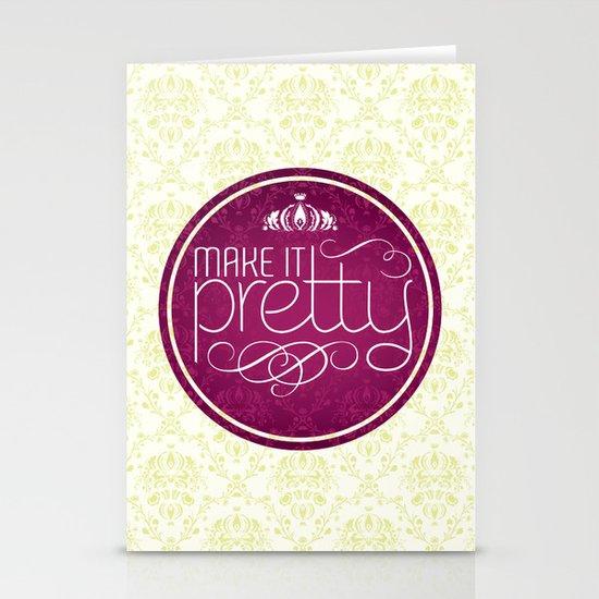 Make it Pretty Stationery Cards