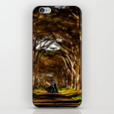 Forest Vader iPhone & iPod Skin