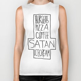 pizza & moar Biker Tank