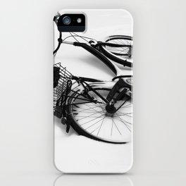 Snow Bicycle iPhone Case