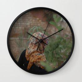 Garden strolls Wall Clock