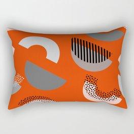 Half-circles Rectangular Pillow