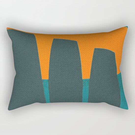 Indigenous Peoples in Easter Island Rectangular Pillow