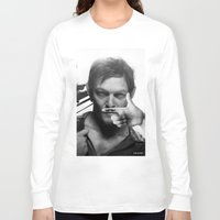 daryl Long Sleeve T-shirts featuring Daryl  by Adel