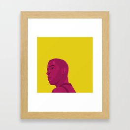 Man On The Moon II Framed Art Print