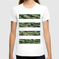 camo T-shirts featuring Camo by angelasoto