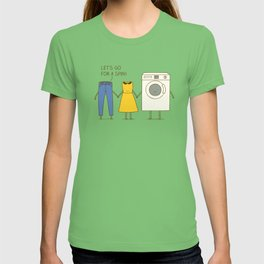 Let's go for a spin! T-shirt