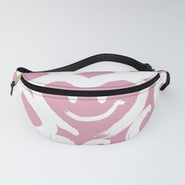 Calligraphy_LOVE & PEACE with HEART SMILE_e03 Fanny Pack