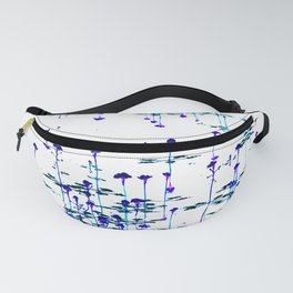 Purple on the pond Fanny Pack