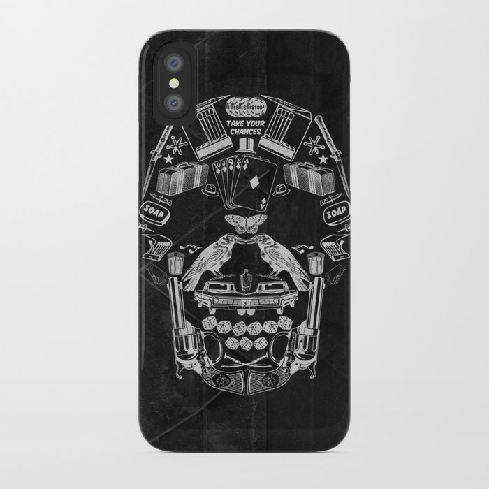 TAKE YOUR CHANCES iPhone Case