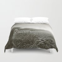 woody Duvet Covers featuring Woody Bay by Emma Harckham