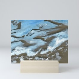 Seeing Seafloor  Mini Art Print