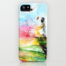 """""""By the cliff"""" iPhone Case"""