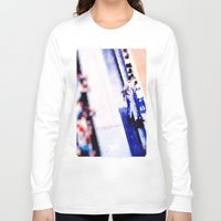 dj Long Sleeve T-shirts featuring dj by Ricochet  Elm  Studio