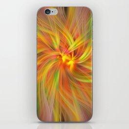 Iris Twirled iPhone Skin