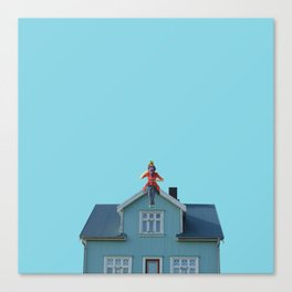 Poppins tea Canvas Print