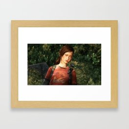 The Last of Us - Ellie Framed Art Print