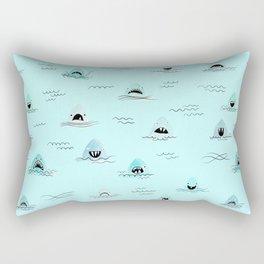 Sharkhead - Shark Pattern Rectangular Pillow
