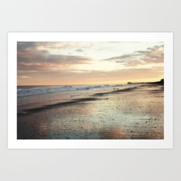 Somnolent Sea Art Print
