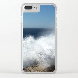 Pacific Splash Clear iPhone Case