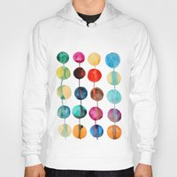 planets Hoodies featuring Planets by Mille Dørge
