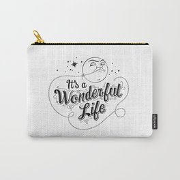 It's a Wonderful Life - Title Carry-All Pouch